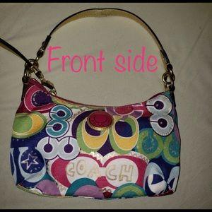 COACH poppy shoulder bag.